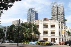 Singapur-Markstein Stockfoto