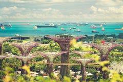 singapur meerblick Stockfoto