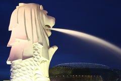 SINGAPUR MERLION Foto de archivo libre de regalías