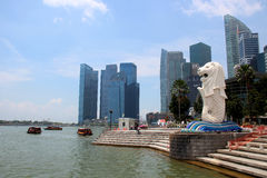 Singapur Merlion Lizenzfreie Stockfotos