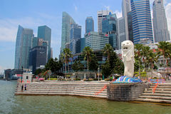 Singapur Merlion Stockbild