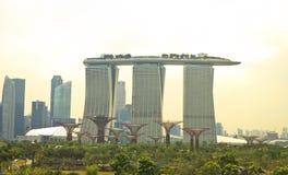 Punkt zwrotny Singapur Fotografia Royalty Free