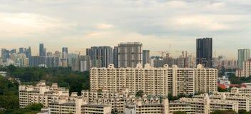 Singapur mieszkanie Stwarza ognisko domowe budowę Obraz Stock
