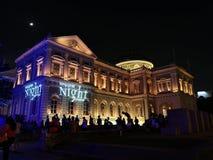 Singapur-Museum stockfotos