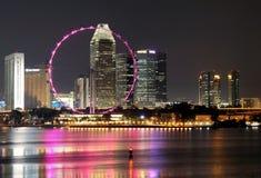 SINGAPUR-NACHT 1 Lizenzfreies Stockfoto
