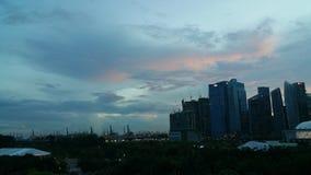 Singapur nasz przyszłość Fotografia Royalty Free