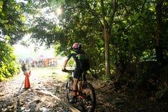 Singapur-nationale einen.Kreislauf.durchmachenmeisterschaft 2009 Lizenzfreie Stockfotos