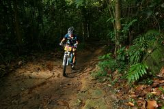 Singapur-nationale einen.Kreislauf.durchmachenmeisterschaft 2009 Lizenzfreie Stockbilder