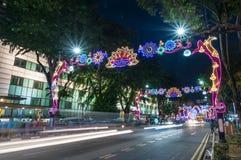 SINGAPUR, NOV - 10 Zdjęcie Royalty Free