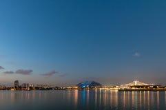 Singapur nowy Krajowy stadium Obrazy Royalty Free