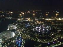 Singapur od wierzchołka obraz royalty free