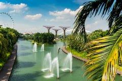 Singapur ogródy Obrazy Stock