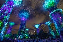 Singapur ogródy zatoką obraz stock