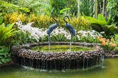 Singapur ogródy Zdjęcia Royalty Free