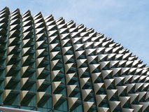 Singapur-Opernhaus-Dachstuhl Stockfoto