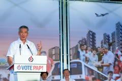 Singapur-Parlamentswahlen 2015 Stockbild