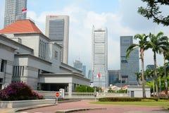 Singapur parlamentu budynek Zdjęcie Stock