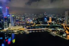 Singapur Pejzaż miejski 4 obrazy stock