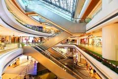 Singapur: Raffles miasta centrum handlowe fotografia royalty free