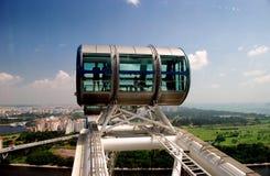 Singapur: Rueda de Ferris del aviador de Singapre Imágenes de archivo libres de regalías