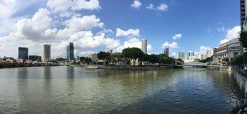 Singapur rzeka obrazy royalty free