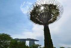 Singapur-` s Landschaften und Singapur-Stadtansicht Lizenzfreie Stockbilder