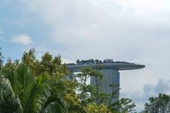 Singapur-` s Landschaften und Singapur-Stadtansicht Stockbild