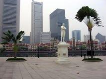 Singapur. Schöpfer und sein Geschöpf Lizenzfreie Stockbilder