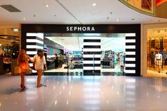 Singapur: Sephora-Speicher lizenzfreie stockfotografie