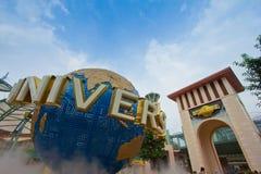 Singapur - Sept. 18 2011 Universal Studios Singapur Stockbild