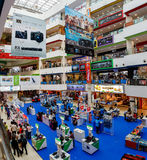 SINGAPUR, SINGAPUR - CIRCA 2016: Alameda de la vida de Funan Digital foto de archivo libre de regalías