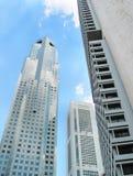 Singapur Skycrapers lizenzfreies stockfoto