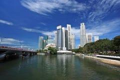 Singapur-Skyline lizenzfreie stockfotografie