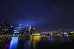 Singapur-Skyline Stockfotos