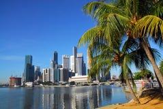 Singapur-Skyline Lizenzfreies Stockfoto