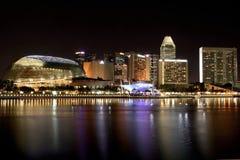 Singapur-Skyline Stockfoto