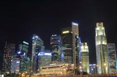 Singapur-Skylinetag Lizenzfreie Stockfotografie