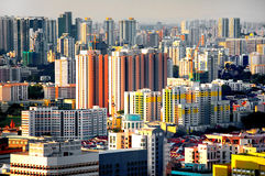 Singapur-Stadt Stockfotografie
