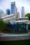 Singapur-Stadt-Skyline Lizenzfreie Stockfotografie