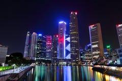 Singapur-Stadtbild stockbilder