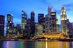 Singapur-Stadtbild stockbild