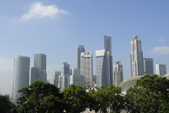 Singapur-Stadtzentrum Lizenzfreie Stockfotos