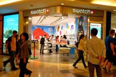 Singapur: Swatch fotos de archivo