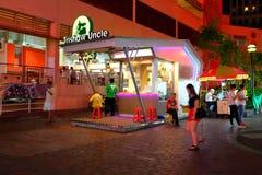 Singapur: Tío de Trishaw fotos de archivo libres de regalías
