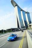 Singapur taxi Obraz Royalty Free