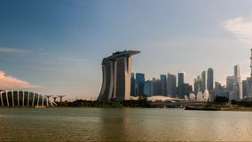 Singapur - Timelapse-Video von Singapur-Skylinen 2018-06 genommen - 03 stock footage
