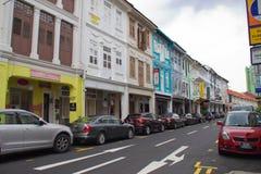 Singapur ulicy Obrazy Stock