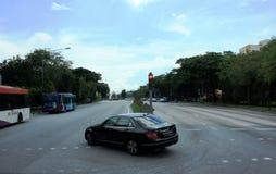 Singapur Uliczna scena 2 Zdjęcie Royalty Free