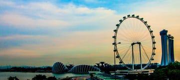Singapur ulotka Fotografia Royalty Free