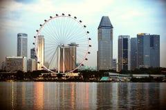 Singapur ulotka Zdjęcia Royalty Free